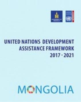 Mongolia UNDAF cover