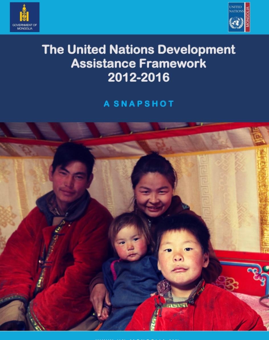 Snapshot - The UN Development Assistance Framework 2012-2016