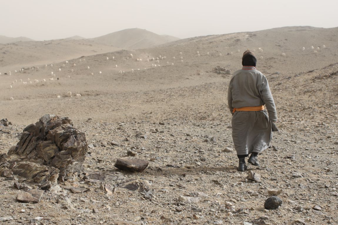 dry and barren land