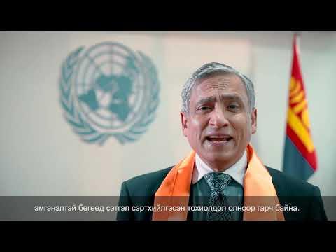 Жендерт суурилсан хүчирхийлэлтэй тэмцэх 16 хоногийн аяны хүрээнд гаргасан НҮБ-ын мэдэгдэл