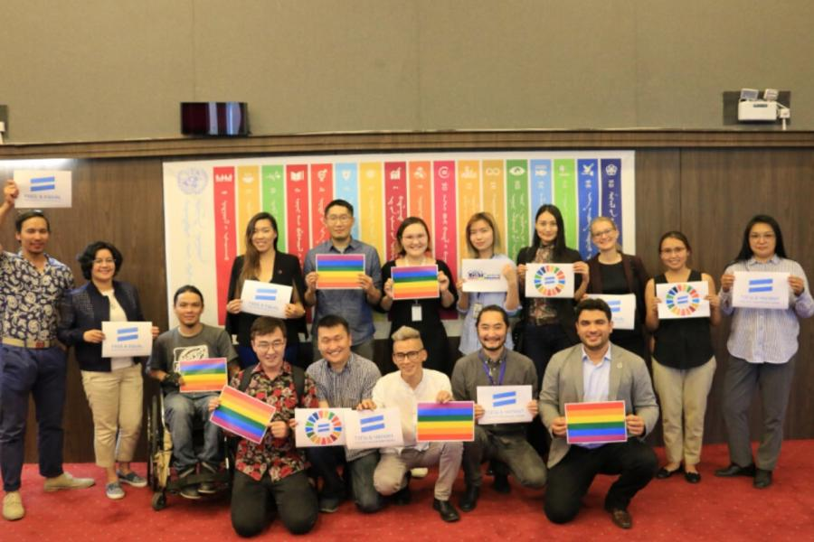 The Coalition for Equality and LGBT Human Rights launched in Mongolia