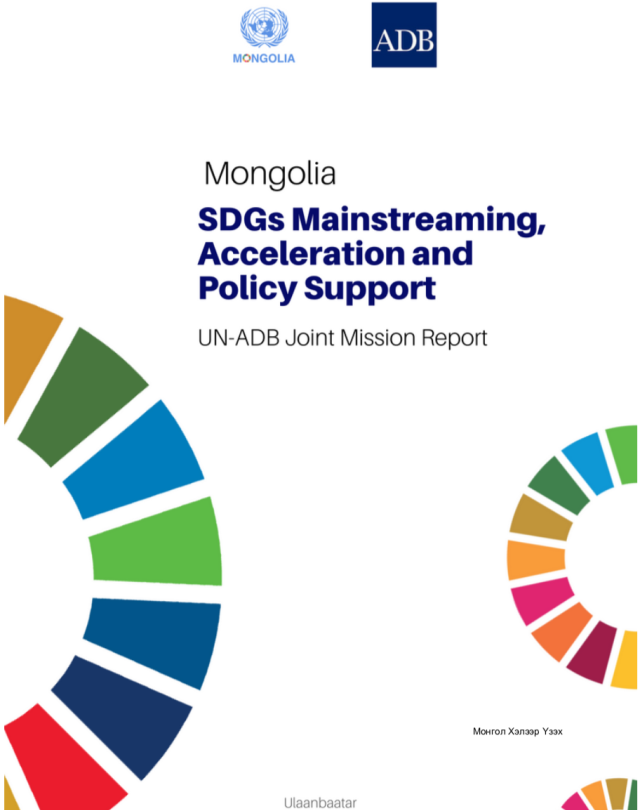 UN ADB MAPS Mongolia report FINAL